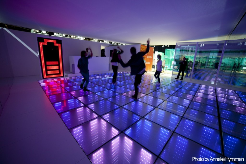 sustainable dance floor